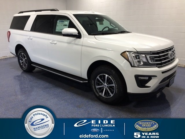 Lease this 2020, White, Ford, Expedition Max, XLT