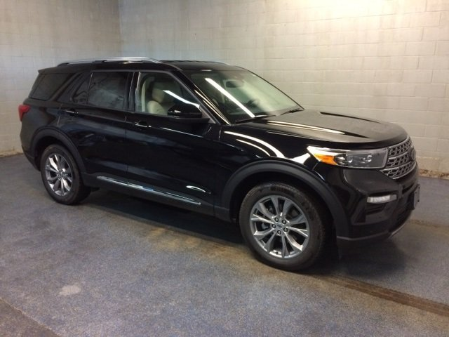 Lease this 2020, Black, Ford, Explorer, Limited