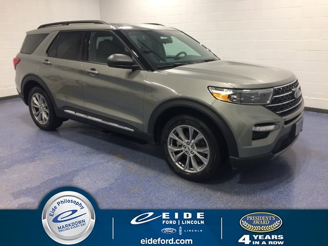 Lease this 2020, Silver, Ford, Explorer, XLT