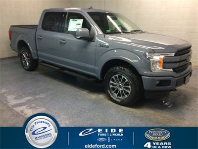 Lease this 2019, Gray, Ford, F-150, Lariat