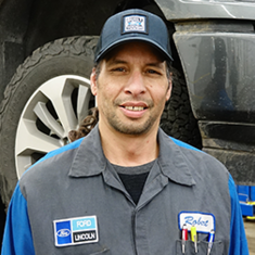 Technician Robert Becker in Service at Eide Ford Lincoln