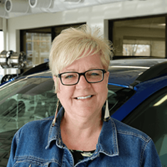 Corporate Training Manager Fran Martin in Sales at Eide Ford Lincoln