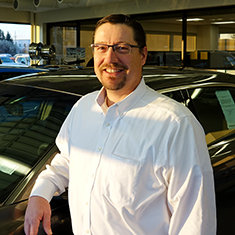 CFO Sheldon Kauk in Management at Eide Ford Lincoln