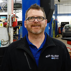 Service Advisor Travis Daschendorf in Service at Eide Ford Lincoln