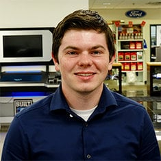 Internet Sales Specialist Dakota Bray in Sales at Eide Ford Lincoln