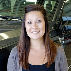 New Car Sales Manager Sabrina Holwegner in Management at Eide Ford Lincoln