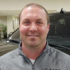 Used Car Manager Corey Rennich in Sales at Eide Ford Lincoln
