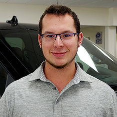 Finance Assistant Ethan Vallie in Sales at Eide Ford Lincoln
