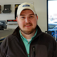 Sales Consultant Taylor Grimm in Sales at Eide Ford Lincoln
