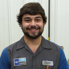 Technician Kohl Klein in Fleet and Diesel Service at Eide Ford Lincoln