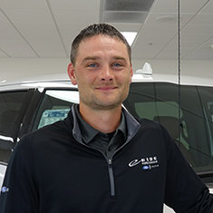 Internet Sales Manager Mike Wishek in Management at Eide Ford Lincoln