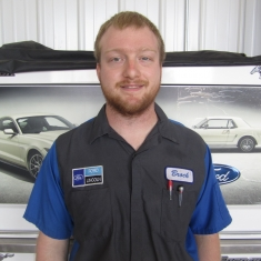 Senior Master Technician Brock Johnson in Fleet and Diesel Service at Eide Ford Lincoln
