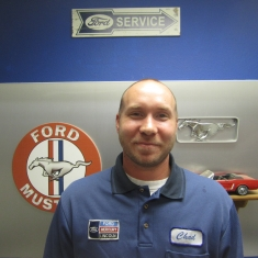 Service and Parts Director Chad Myrvik in Management at Eide Ford Lincoln