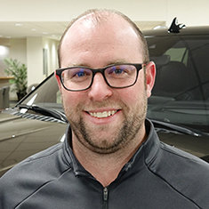 Internet Sales Manager Ryne Balzer in Sales at Eide Ford Lincoln