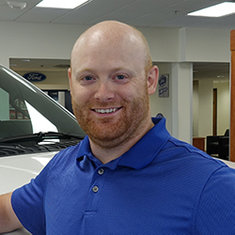 Sales Consultant Dustin Kelly in Sales at Eide Ford Lincoln
