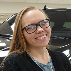 Sales Consultant Megan Thompson in Sales at Eide Ford Lincoln