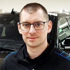 New Car Manager Adam Griffith in Management at Eide Ford Lincoln