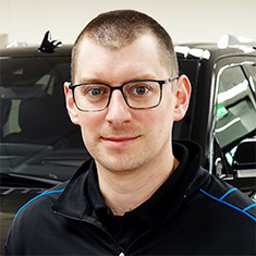 New Car Manager Adam Griffith in Sales at Eide Ford Lincoln