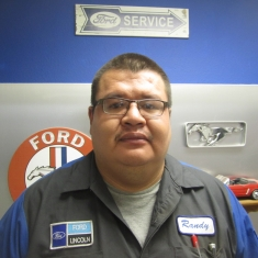 Technician Randy Laframboise in Service at Eide Ford Lincoln