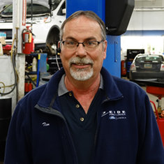 Parts Manager Tim Kreitel in Management at Eide Ford Lincoln