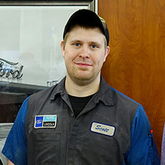 Technician Scott Ullrich at Eide Ford Lincoln