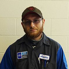 TECHNICIAN Austin Bell in Service at Eide Ford Lincoln