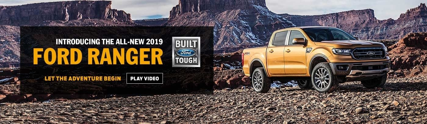 All new 2019 ford ranger