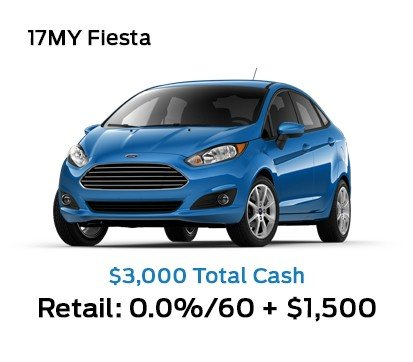 2017 Ford Fiesta Special Offer