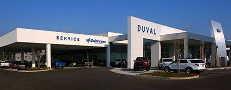 picture of duval ford's quick lane service department