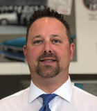 Parts Manager Eric Rakers in Parts at Duval Ford