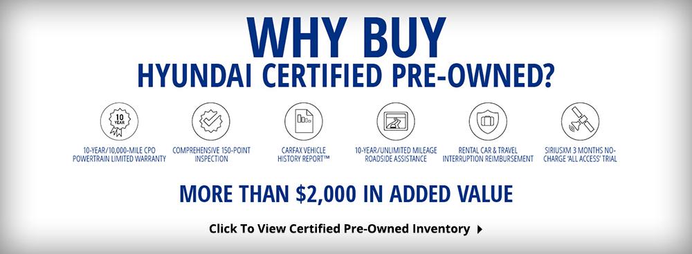 Hyundai Certified Pre-Owned >> Hyundai Certified Pre Owned Eide Hyundai