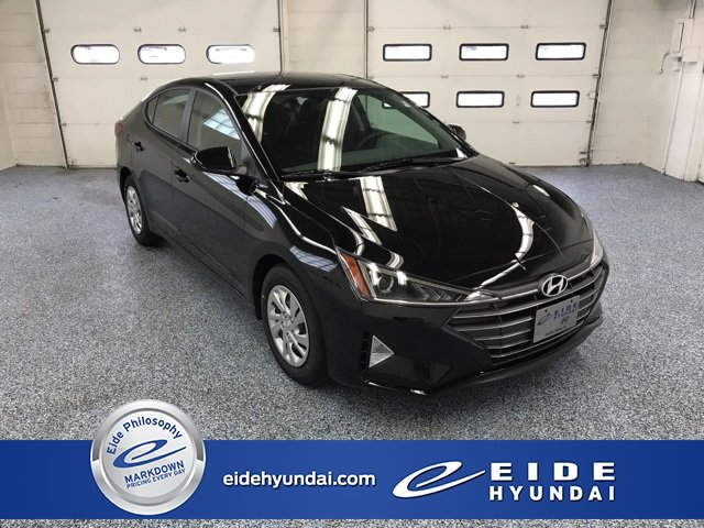 Lease this 2019, Black, Hyundai, Elantra, SE