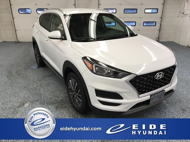 Lease this 2019, White, Hyundai, Tucson, SEL