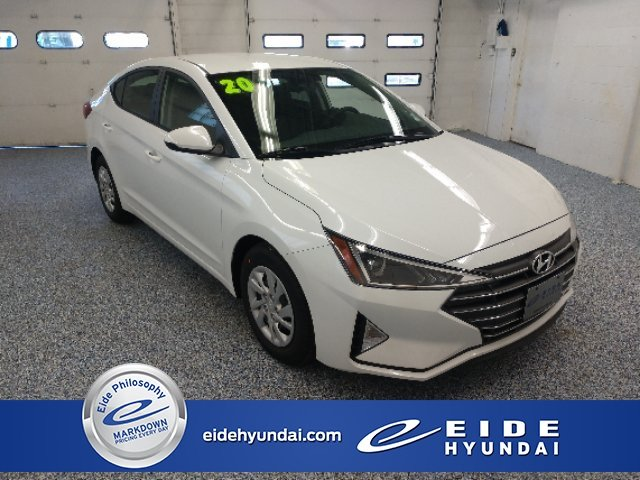 Lease this 2020, White, Hyundai, Elantra, SE