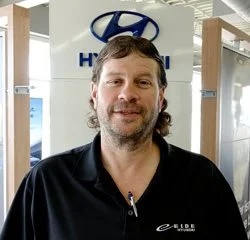 Parts & Service Director Brian Fjestad in Parts at Eide Hyundai