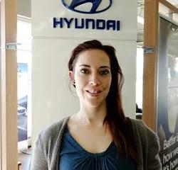 Cashier Steffanie Nelson in Service at Eide Hyundai