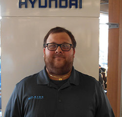 Parts Counter Person Jose Salazar in Parts at Eide Hyundai