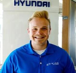 Sales Consultant Devlin Reasy in Sales at Eide Hyundai