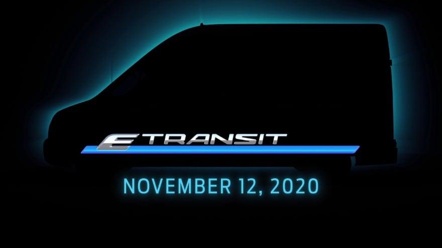 Ford Prepares to Unveil E-Transit on Nov. 12