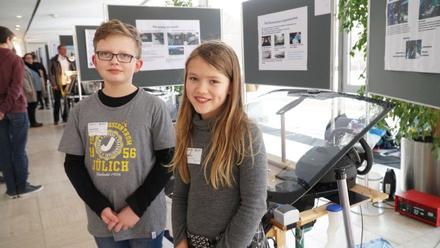 Daniel and Lara Krohn with their prize-winning water-saving system