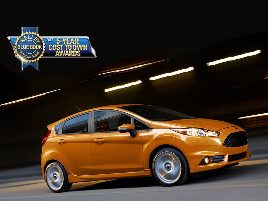 2017 Ford Fiesta St Wins Kelley Blue Book Award For Lowest Projected Five Year Ownership Costs