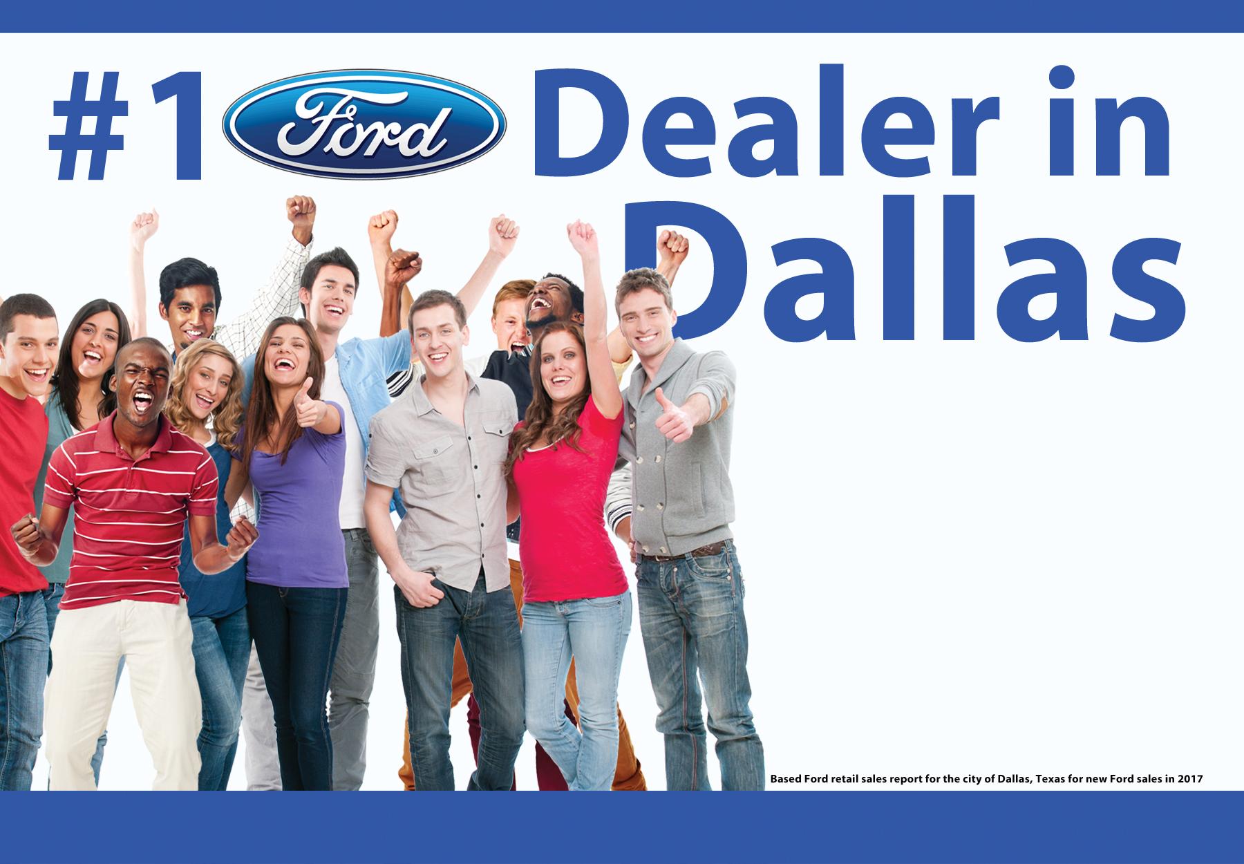 #1 Ford Dealer in Dallas