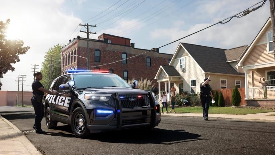 hybrid police interceptor
