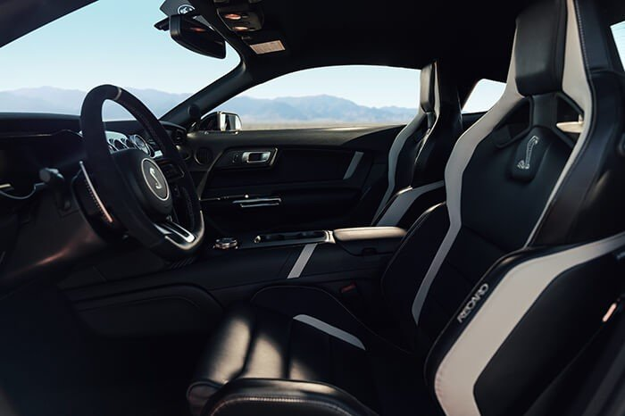Interior of 2020 Mustang Shelby GT500