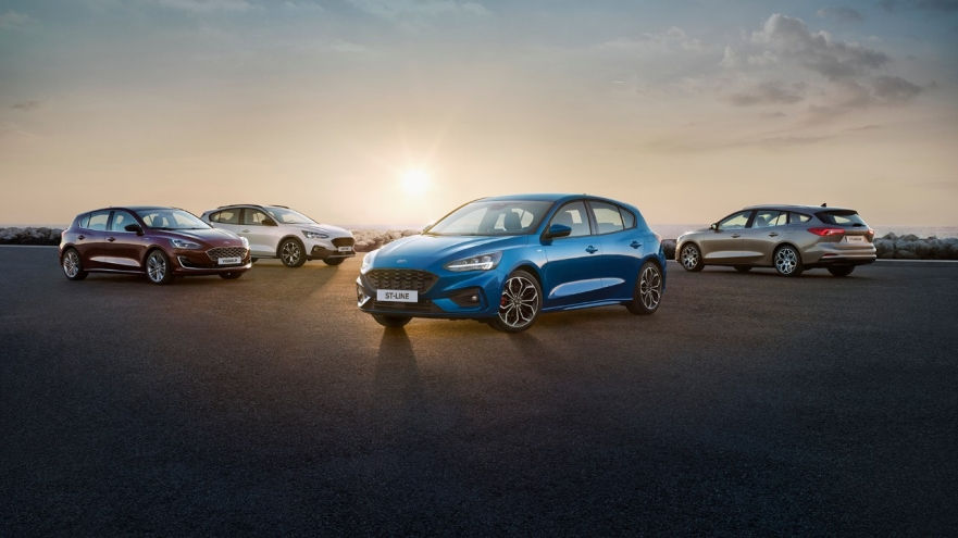 The all-new Focus features 4-door sedan, 5-door estate/wagon and 5-door hatchback body styles, depending on the market.