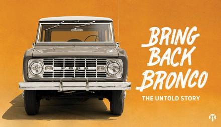 Bring Back Bronco