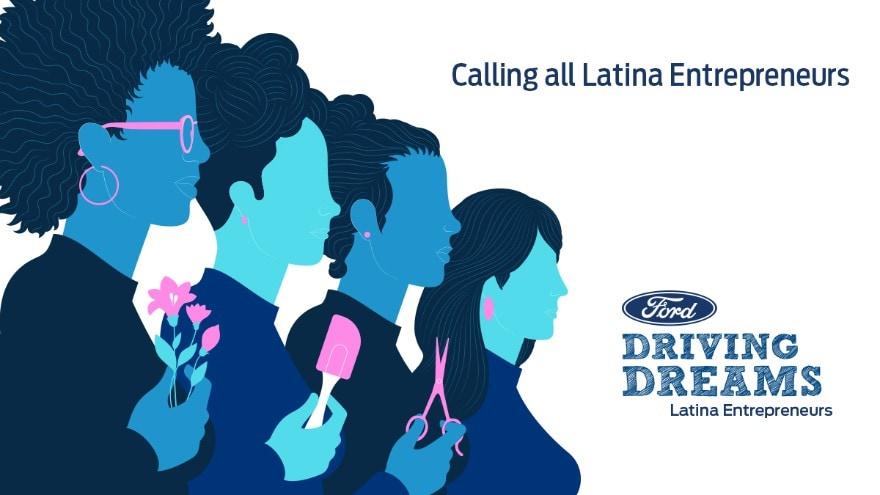 The Ford Driving Dreams Latina Entrepreneurs program