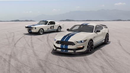 Mustang Heritage Edition Package