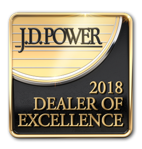 J.D. Power Award for 2018 Dealer of Excellence