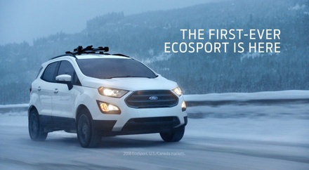 First-Ever Ford EcoSport
